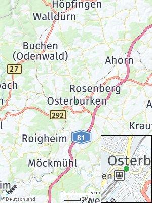 Here Map of Osterburken