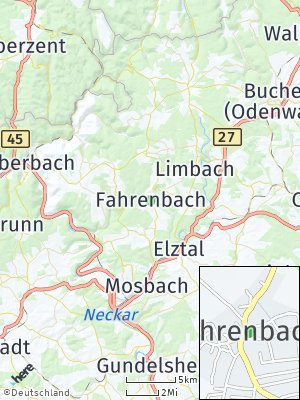 Here Map of Fahrenbach