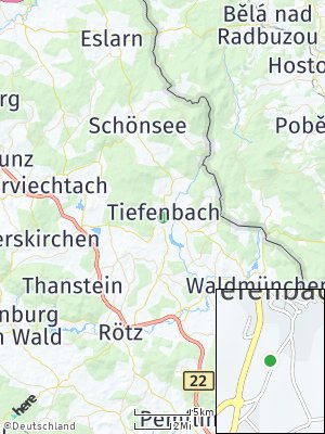 Here Map of Tiefenbach