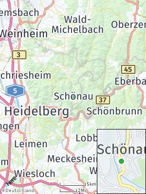 Here Map of Schönau