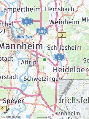 Here Map of Friedrichsfeld