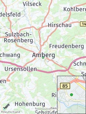 Here Map of Amberg