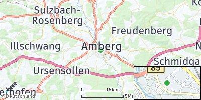 Google Map of Amberg