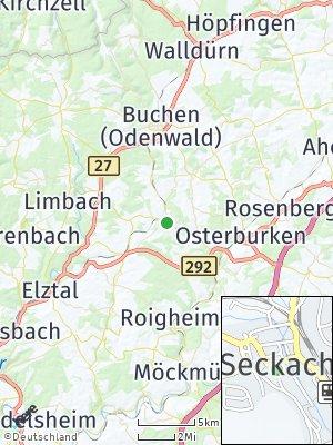 Here Map of Seckach