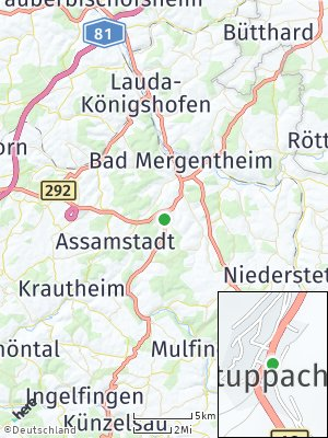 Here Map of Stuppach
