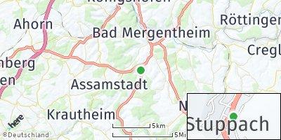 Google Map of Stuppach