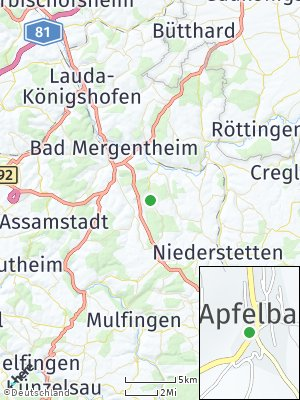 Here Map of Apfelbach