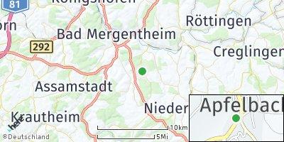 Google Map of Apfelbach