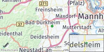 Google Map of Friedelsheim