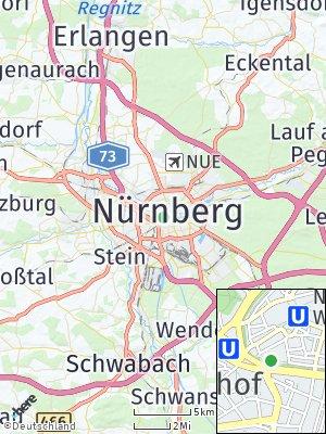 Here Map of Nürnberg