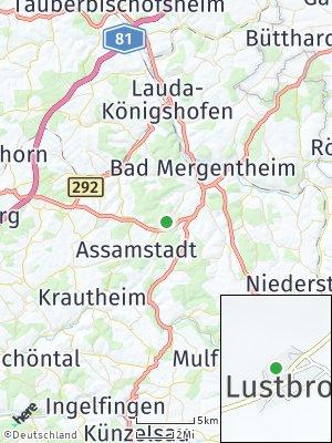 Here Map of Lustbronn