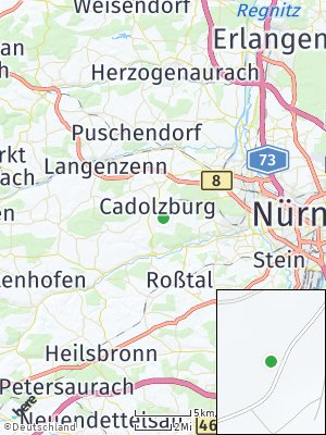 Here Map of Cadolzburg