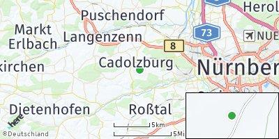 Google Map of Cadolzburg