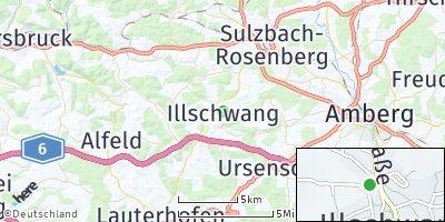 Google Map of Illschwang