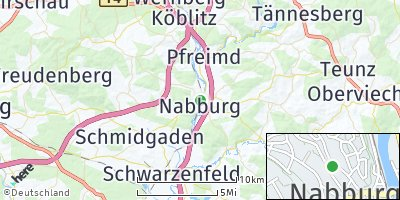 Google Map of Nabburg
