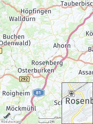 Here Map of Rosenberg