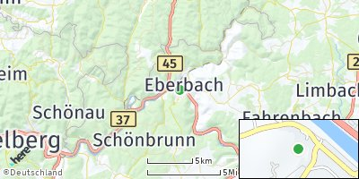 Google Map of Eberbach