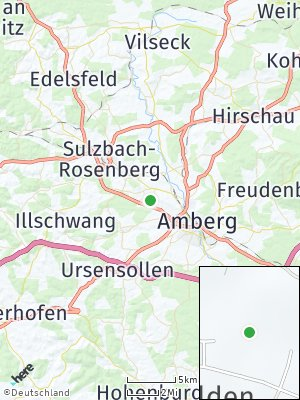 Here Map of Karmensölden
