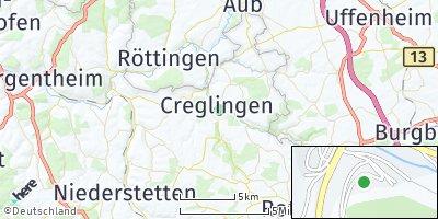 Google Map of Creglingen
