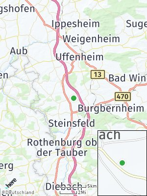 Here Map of Ohrenbach