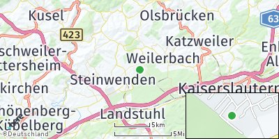 Google Map of Mackenbach