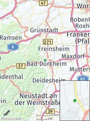 Here Map of Bad Dürkheim