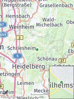 Here Map of Wilhelmsfeld
