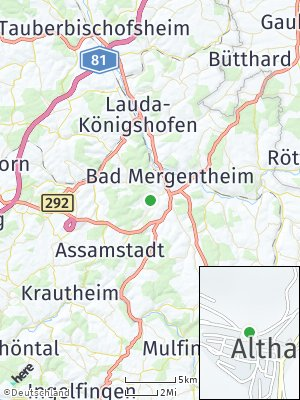 Here Map of Althausen