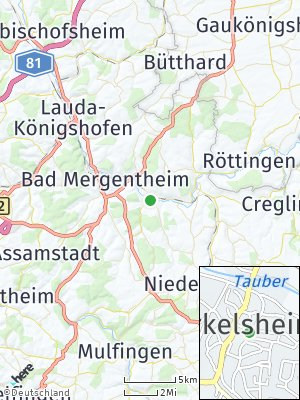 Here Map of Markelsheim