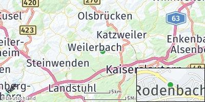 Google Map of Rodenbach