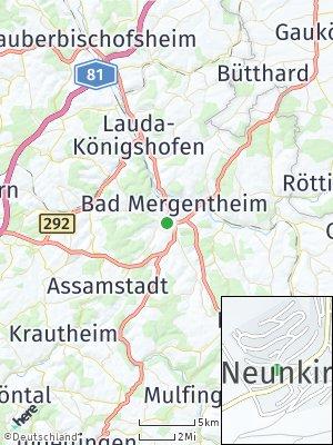 Here Map of Neunkirchen