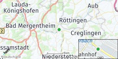 Google Map of Weikersheim