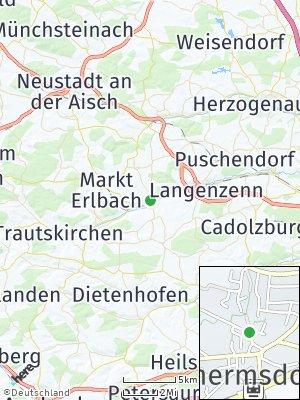 Here Map of Wilhermsdorf