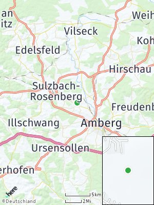 Here Map of Poppenricht