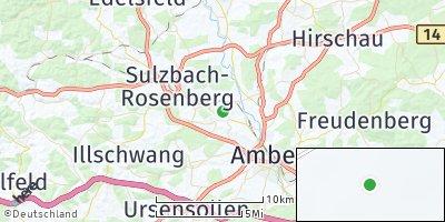 Google Map of Poppenricht
