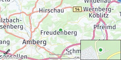 Google Map of Freudenberg