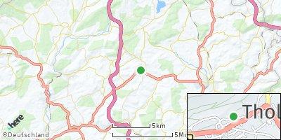 Google Map of Tholey