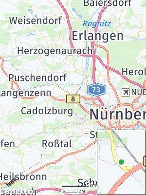 Here Map of Burgfarrnbach
