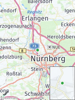 Here Map of Poppenreuth