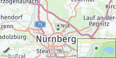 Google Map of Großreuth hinter der Veste