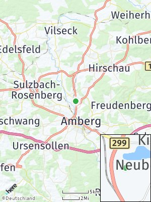 Here Map of Neubernricht