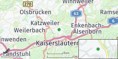 Google Map of Erlenbach