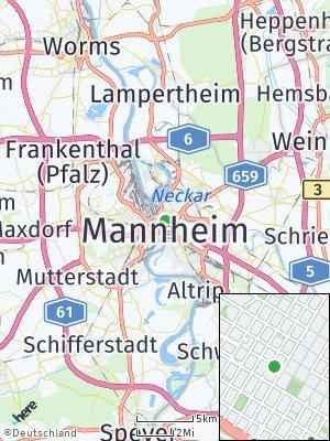 Here Map of Schwetzingerstadt