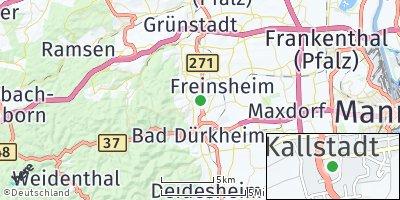 Google Map of Kallstadt