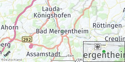 Google Map of Bad Mergentheim