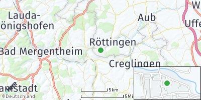 Google Map of Tauberrettersheim