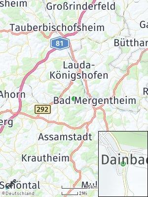 Here Map of Dainbach