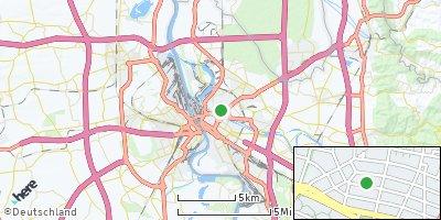 Google Map of Mannheim