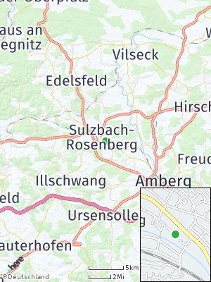 Here Map of Sulzbach-Rosenberg
