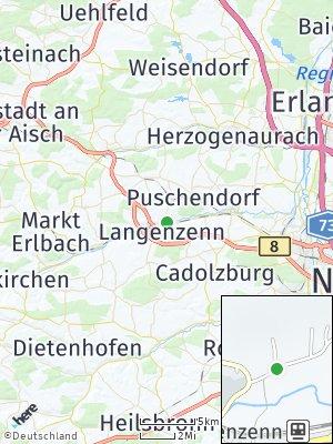 Here Map of Langenzenn